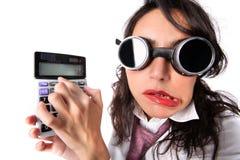 Fake Accountant Royalty Free Stock Image