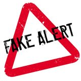 Fake Alert rubber stamp Royalty Free Stock Photo
