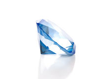 Fake Blue Diamond Royalty Free Stock Photos