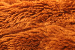 Fake brown fur Royalty Free Stock Images