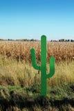 Fake cactus Stock Image