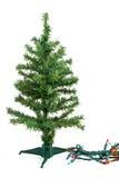 Fake christmas tree Royalty Free Stock Photos