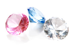 Fake Colored Gems Royalty Free Stock Image