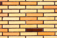Fake colorful brick wall siding Stock Image