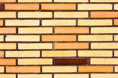 Fake colorful brick wall siding Stock Image