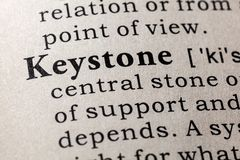 Dictionary definition of the word keystone. Fake Dictionary, Dictionary definition of the word keystone . including key descriptive words royalty free stock photos