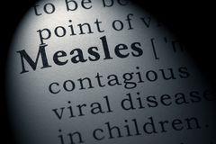 Definition of measles. Fake Dictionary, Dictionary definition of the word measles. including key descriptive words royalty free stock images