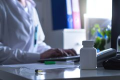 Free Fake Doctor, Quack Or Charlatan In Hospital Office. Stock Image - 109924971
