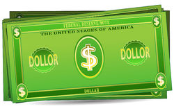 Fake dollar Royalty Free Stock Image