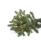Fake fir tree decoration Royalty Free Stock Photo