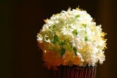 Fake flower pot Stock Photo