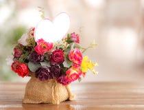 Fake flowers Royalty Free Stock Photos
