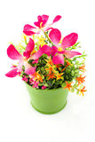 Fake flowers for interior decoration Stock Photography