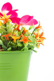 Fake flowers for interior decoration Royalty Free Stock Photography