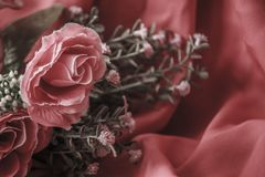 Fake flowers Royalty Free Stock Photo