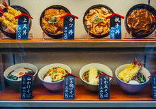 Fake food in Tokyo Stock Photos