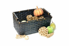 Fake Fruit Basket Royalty Free Stock Image