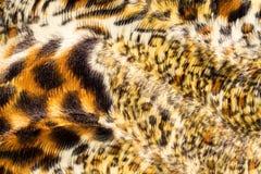Fake fur. Surface of spotted, fake fur Royalty Free Stock Photos