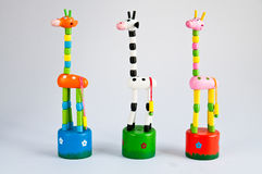 Fake Giraffe,toys Royalty Free Stock Photos