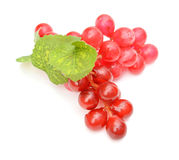 Fake grape on white background Royalty Free Stock Images
