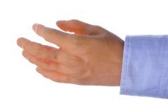 Fake hand Stock Photography