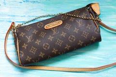 Fake handbag Louis Vuitton royalty free stock photography
