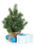Fake mini Christmas tree Royalty Free Stock Image