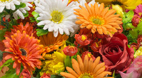 Fake mixed flower Royalty Free Stock Image