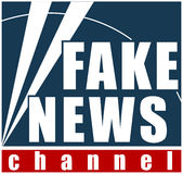 Fake News channel. Ilustration concept Stock Photos