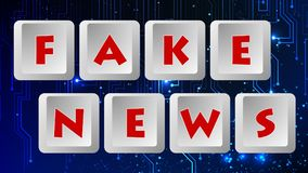 Fake News 011 - Color Background royalty free illustration