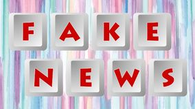 Fake News 004 - Color Background. High Resolution - Colorful Background vector illustration