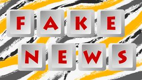 Fake News 006 - Color Background. High Resolution - Colorful Background stock illustration