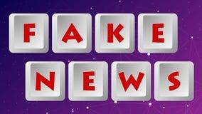 Fake News 012 - Color Background stock illustration