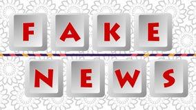 Fake News 002 - Color Background. High Resolution - Colorful Background vector illustration