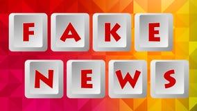 Fake News 003 - Color Background. High Resolution - Colorful Background Vector Illustration