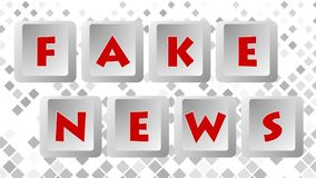 Fake News 005 - Color Background. High Resolution - Colorful Background stock illustration