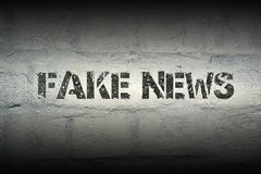 Fake news gr Stock Images