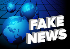 Fake News stock image