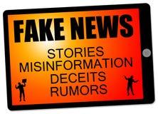 Fake news stories Royalty Free Stock Image