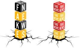 Fake news royalty free stock images