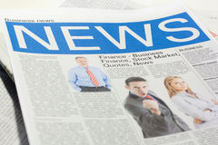 Fake newspaper Royalty Free Stock Images