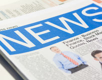 Fake newspaper Royalty Free Stock Image