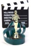 Fake Oscar award Stock Photo