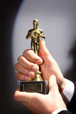 Fake Oscar prize Stock Photos
