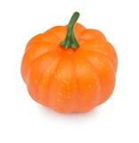 Fake pumpkin isolated on white Stock Image
