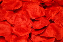 Fake Rose Petals Stock Images