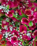 Fake roses bunch Stock Image
