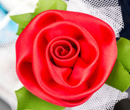 Fake roses Stock Images