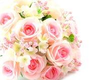 Fake roses plastic Royalty Free Stock Photo