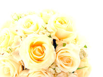 Fake roses plastic Royalty Free Stock Images